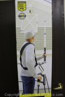 ($149)SurfaceMaxx Pro 18' Telescoping Pressure Washer Wand 4,200 PSI with Harness