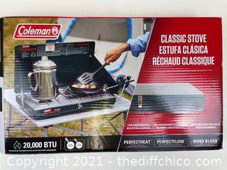 Coleman Classic 2-Burner Propane Stove