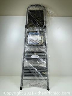 NEW ($44.99) Cosco 3 Step All Steel Step Stool with Tray
