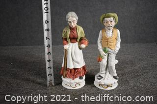 Pair of Collectible Figures