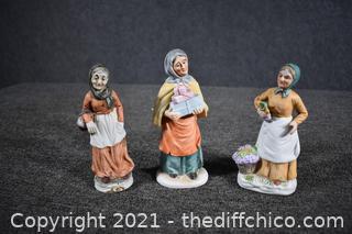 3 Collectible Ladies