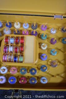 Thread Case plus Sewing Machine Bobbins