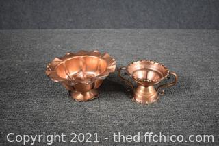 Vintage Gregorian Copper Pieces
