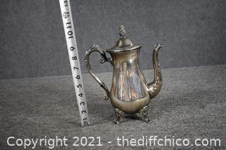 Silver Plate Tea Pot