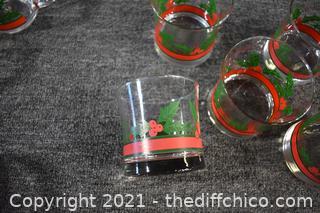 13 Christmas Glasses
