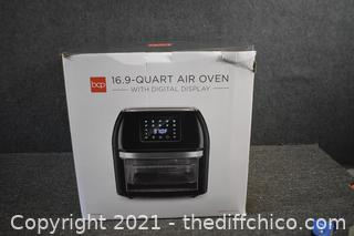 NIB Red Air Oven