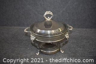 Silver Plate Server