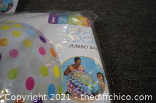 2 Jumbo Pool Balls