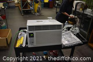 Working Room Air Conditioner-measurements in pictures