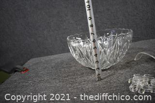 Punch Bowl, 12 cups, ladle, hooks and pedestal