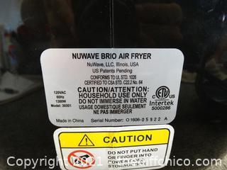 NuWave Brio Air Fryer wks