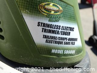 Working Stringless Electric Trimmer /Edger