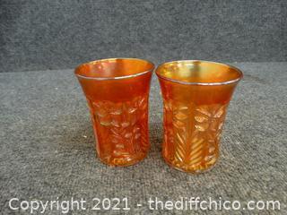 Vintage Carnival Glass 1908