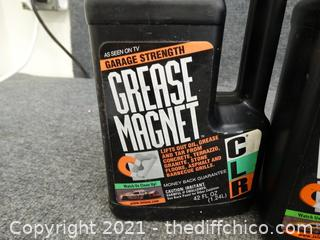 2 CLR Grease Magnet Sealed