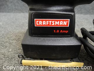 Working Craftsman 1.8 AMP Sander