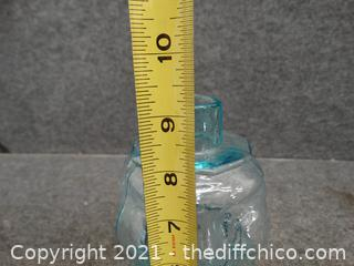 Glass Leprechaun Jar