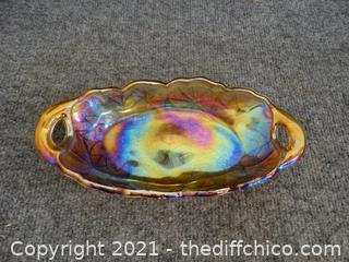 Carnival Glass Dish