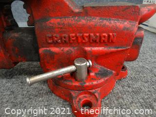 Craftsman Vise # 391-5180