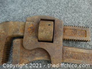 """Large 36"""" Pipe Wrench"""