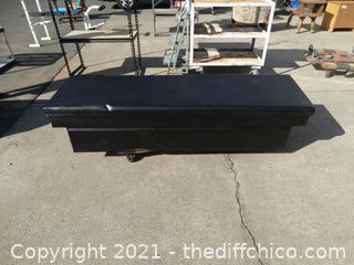 """Black Truck Tool Box 63"""" Truck Insert deep 25 1/2"""""""