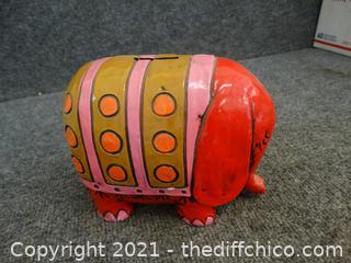 Elephant Penny Bank