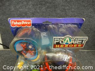 Sealed Planet Heros Toy