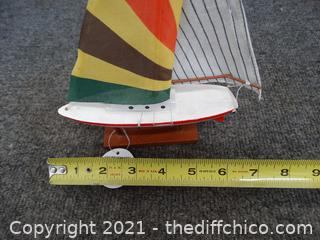 Wood Boat Toy