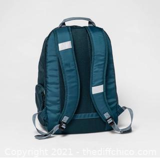 ($39.99) NEW 19'' Jartop Backpack Teal - Embark™