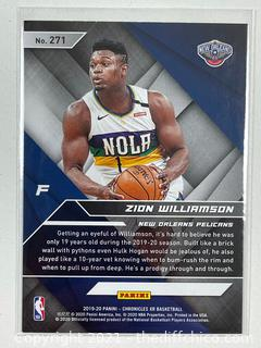 Zion Williamson 2019 Panini Chronicles Xr #271 RC Rookie