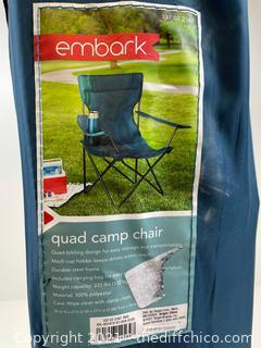 Embark Quad Camp Chair
