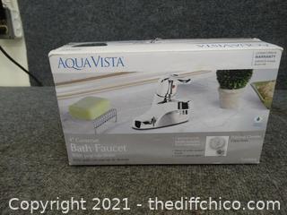 NIB Aqua Vista Bath Faucet