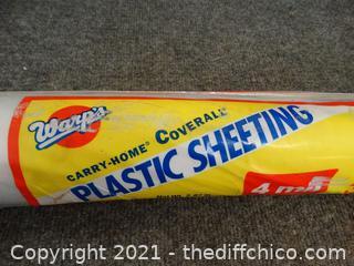 3ft x 50ft Plastic Sheeting