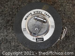 Lufkin White Steel Measuring tape