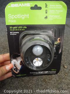 New Beams LED  Spotlight