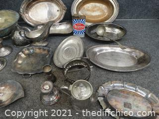 Mixed Pewter & More  Lot