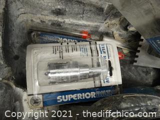 Cement Tools In Black Case