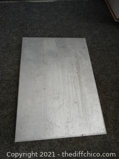Metal Clip Board File Holder
