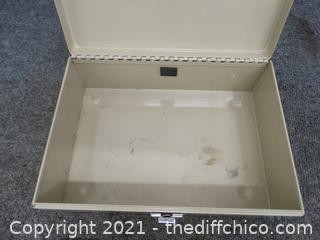 Cash box no key