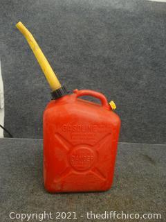 2.5 Gallon  Gas Can