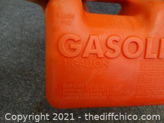 1 Gallon Gas Can
