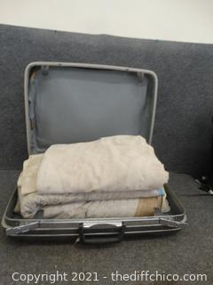 Painters Cloths In Suitcase