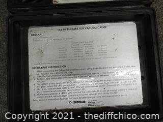 Thermistor Vacuum Gauge