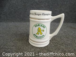 Oakland A's Mug  World Series 1988