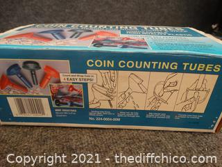 Coin Counting Tubes missing pennyone
