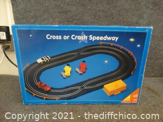 Cross or Crash Speedway Track