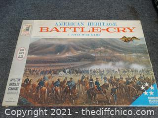 American Heritage Battle Cry Game new