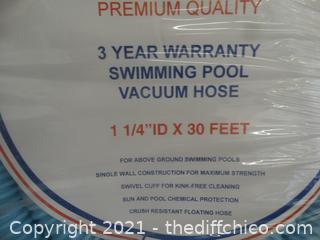 New Elite Swimming Pool Vacuum Hose