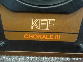 Chorale 111 Speakers (2)