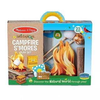Melissa & Doug Let's Explore S'mores & More Campfire Play Set