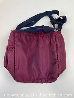 NEW Igloo Sport Luxe Mini City Lunch Bag - Wine